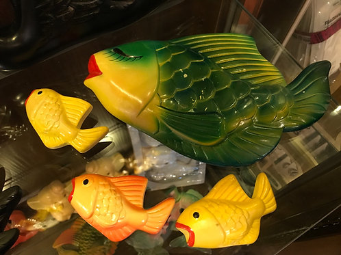 Miller Studio  Chalk ware Fish