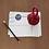 "Thumbnail: Monkey Knot Paper Weight ""Burgundy"""