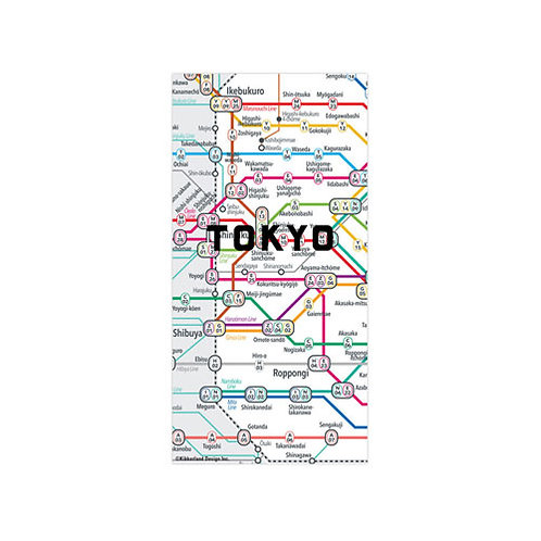 """Map Magnets """"Tokyo"""""""
