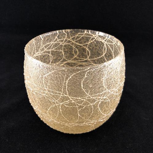 RUBBER SPAGHETTI STRING ROUND ROCK GLASS 4