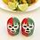 Thumbnail: Dos Luchadores Salt&Pepper Shakers