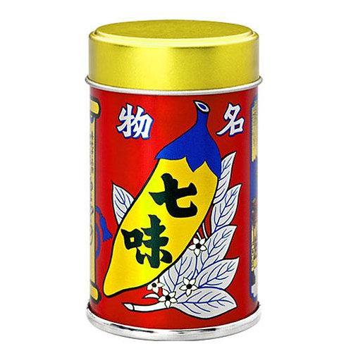 信州・八幡屋礒五郎 七味唐からし 缶入り
