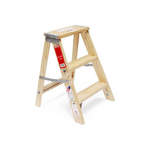 """Wood Stepladder """"Size 2"""""""