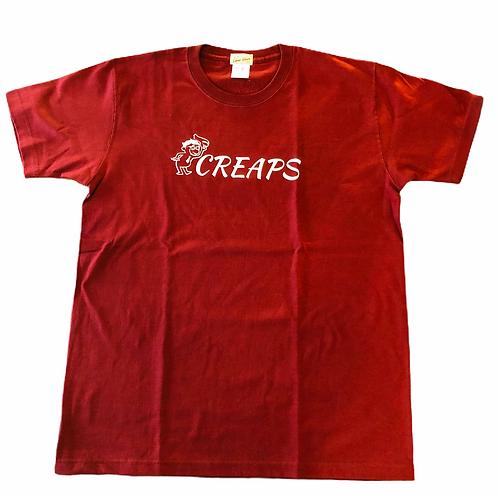 CREAPS  バーガンディ 7.1oz へヴィーウェイトT