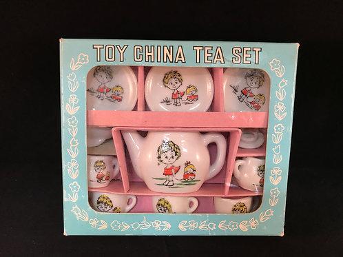 TOY TEA SET  MADE IN JAPAN