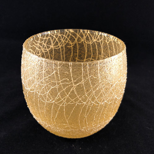 RUBBER SPAGHETTI STRING ROUND ROCK GLASS 19