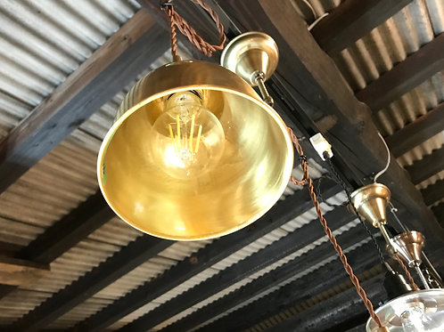 真鍮ペンダントランプ スイッチ付き