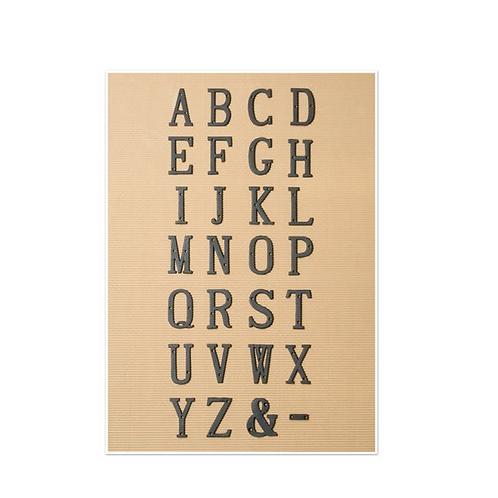 アルファベットアイアン