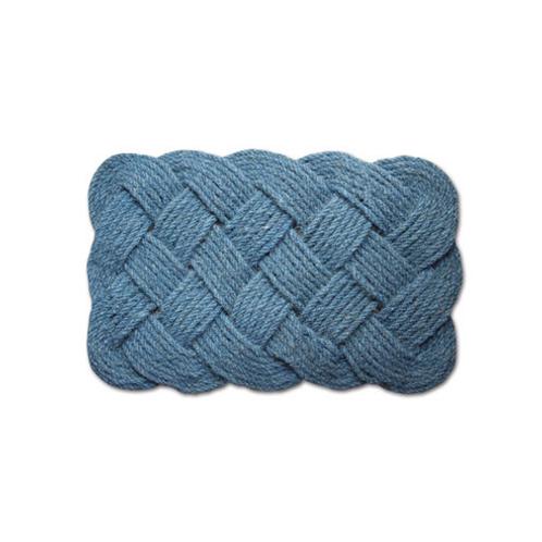 """Infinity Coir Mat """"L / Blue"""""""