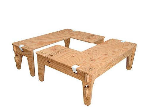 PANEL LONG L-TABLE
