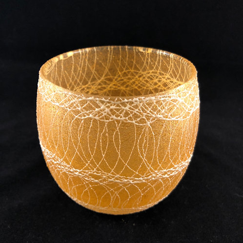 RUBBER SPAGHETTI STRING ROUND ROCK GLASS 18