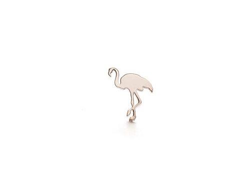 Lanterna Safari Posts - Flamingo(サファリピアス-フラミンゴ) シルバー