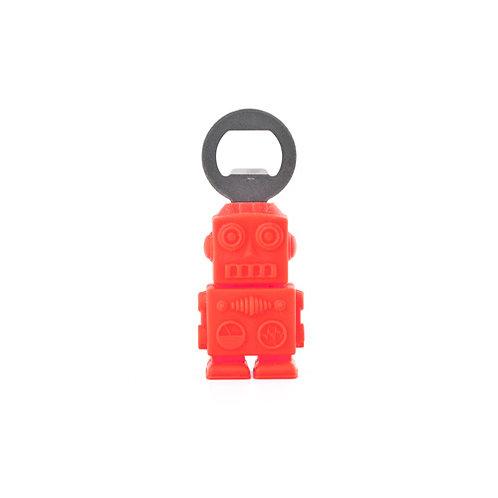 Red Robot Bottle Opener
