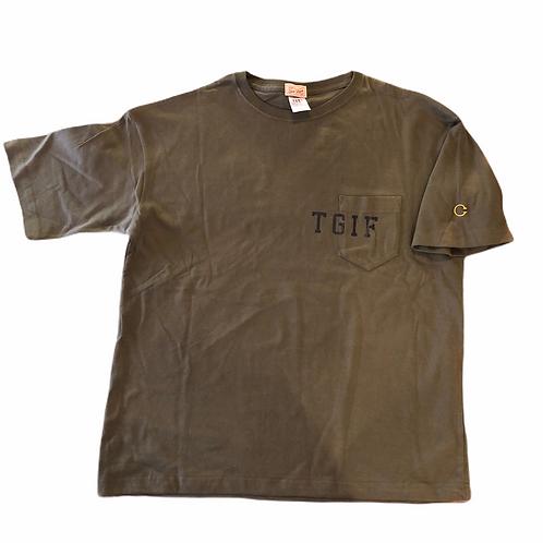 TGIF 5.6oz ビッグシルエットT(ポケット付)