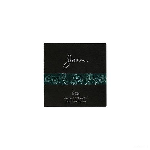 カードパフューム Jean.Eze(エズ)