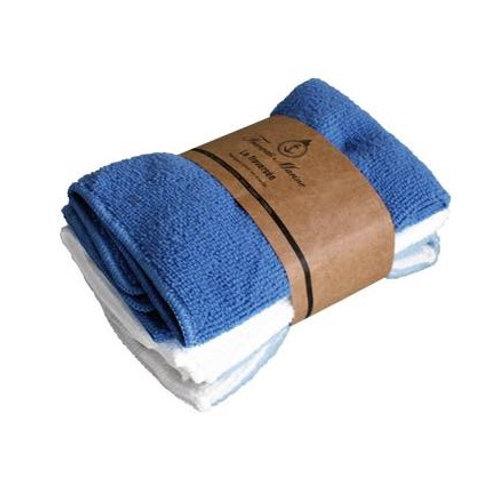 FRANCAIS MARINE マイクロタオル3枚セット ブルー
