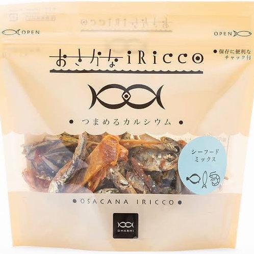 おさかなIRICCO シーフードミックス&焼きチーズ 85g