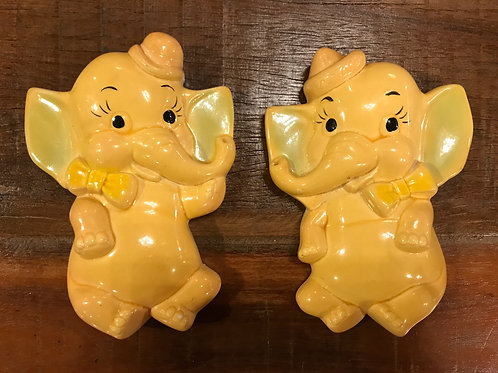 Miller Studio  Baby Elephant Chalkware