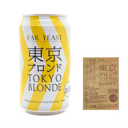 Far Yeast TOKYO BLONDE 缶・24本入箱