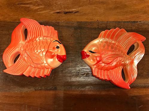 Miller Studios Chalkware fish