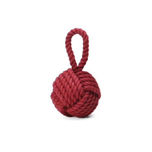 "Monkey Knot Paper Weight ""Burgundy"""