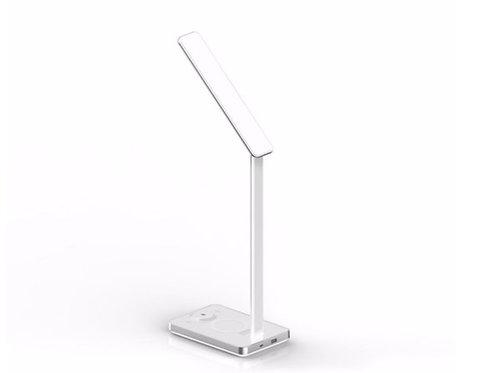 Luminária Led Com Carregador Por Indução Branco Xtrax
