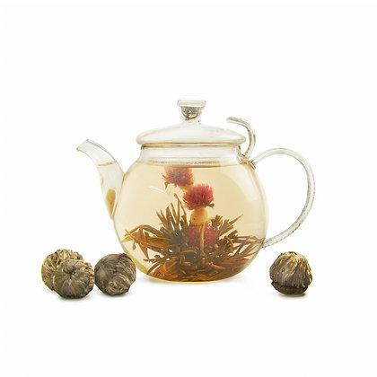"""Связанный чай """"Весенний цветок"""""""