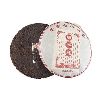 "Шу Пуэр блин 357 г ""Чен Сян"" (Древний аромат) (фаб. Да Вэй), 2015 год"