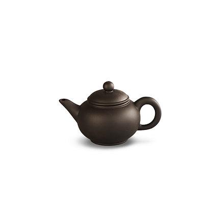"""Чайник из глины """"Темная амфора"""", 125 мл"""
