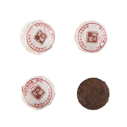 Шу пуэр мини точа Менхай (6,5 г), 1 шт