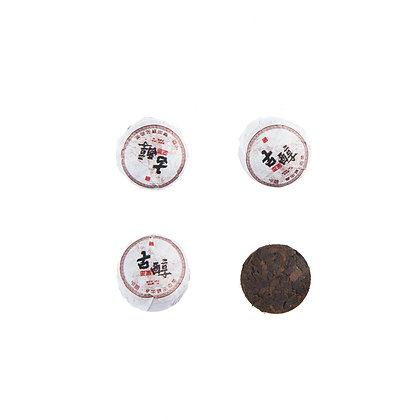 Шу пуэр мини точа Линцан Ченсян (6,5 гр), 1 шт