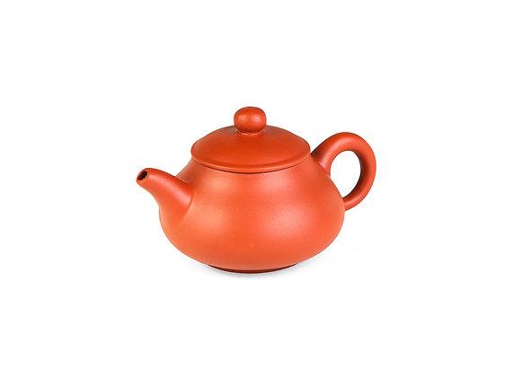 """Чайник из исинской глины """"Рыжая тыковка"""" 100 мл"""
