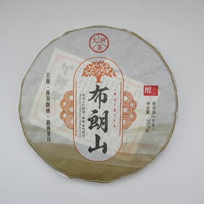 """Шен Пуэр блин 357 г """"Дашу Булан шань"""" (фаб. Гу Чаюань, Юньнань Мэнхай), 2013 год"""