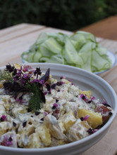 Potato salad with purple basil.JPG