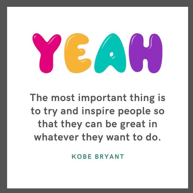 YEAH - Kobe Bryant