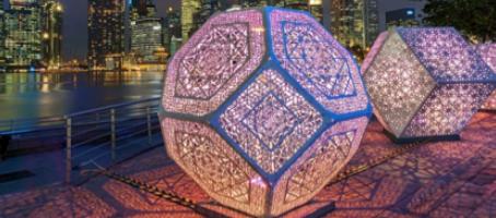 World-Class Lighted Art Sculpture Comes To Downtown GR