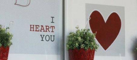Valentine's Day Mantel Ideas