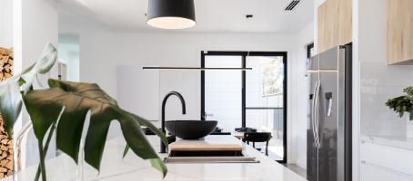 Black Is Back In Kitchen Design