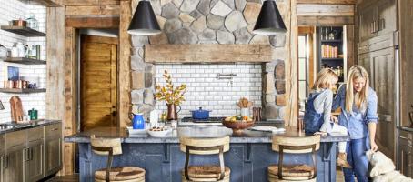 Rustic-Organic Kitchen Design