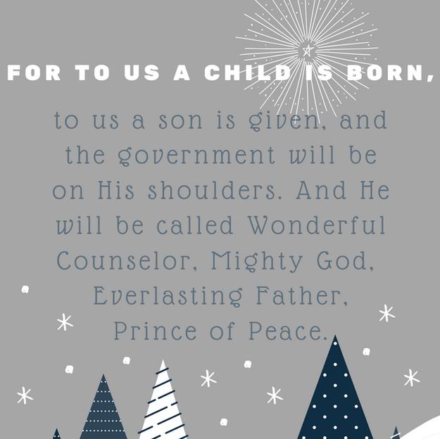 Isaiah 9:6 Christmas_iPhone Lockscreen
