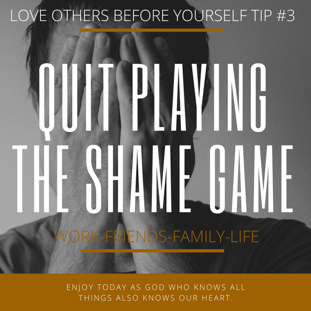 Quit The Shame Game