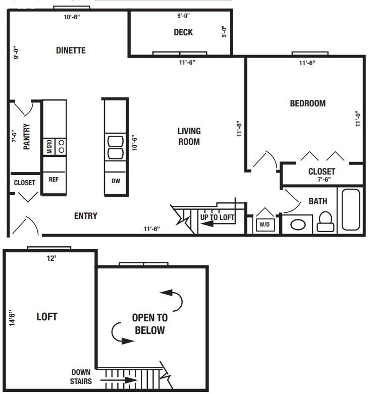 Admiral 4455 Loft Large