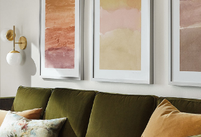 Is Your Wall Decor Too High or Too Small?