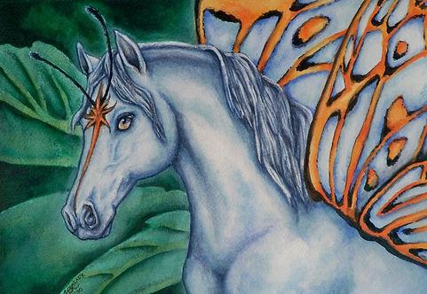 """""""Faery Horse - Star Fyre"""" Print"""