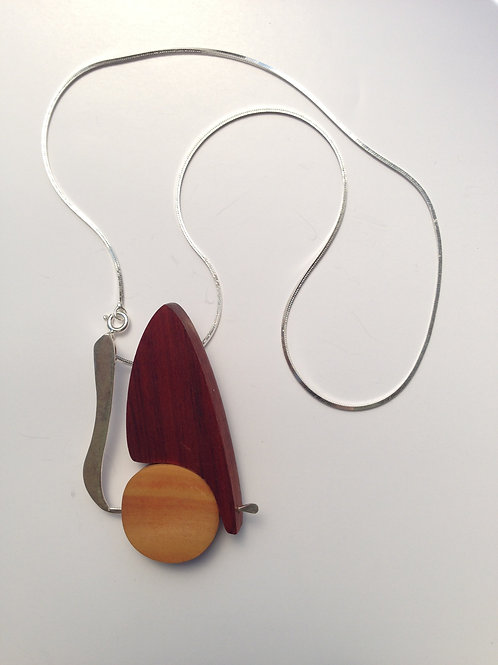 Toucan - Wood Necklace