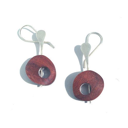 Universo - Guayacan Wood Earrings