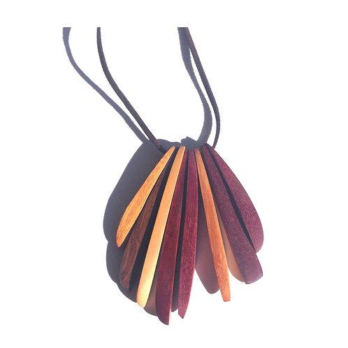 Colors - Wood Necklace