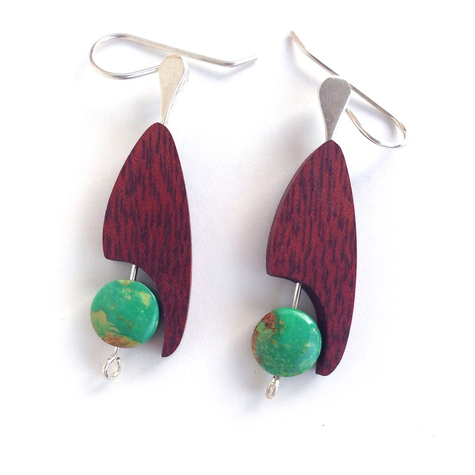 Turquoise Toucan Earrings