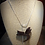 Thumbnail: Heliconia - Sande Wood Necklace