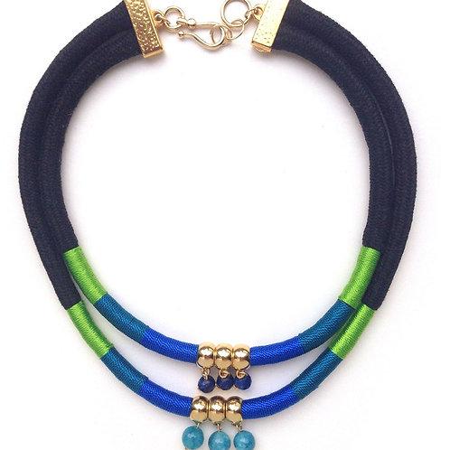 Double Amazon with Stone Beads